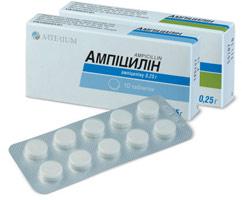 инструкция ампицилин - фото 4